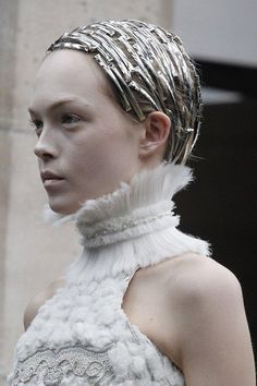 A look at Alexander McQueen's best runway beauty looks