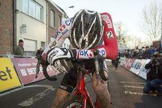 Mathieu van der Poel after his winning effort in Diegem