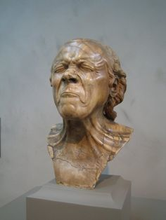 The Vexed Man by Messerschmidt at the Getty Museum