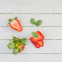 Fresh Strawberries by Suzanne Clements, via 500px