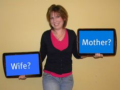 """Are you a better wife or mother? This article's great - i'm happy I read it even though I am still what some people might call, """"single""""..."""