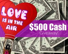 $500 Paypal Cash Giveaway Free paypal cash? Anyone wants? Enter to #win $500 worth of Paypal Cash in Love Is In The Air Giveaway!  International Giveaway