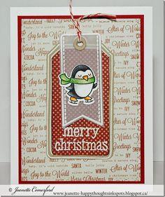 Penguin - Christmas card