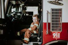 Little fireman!