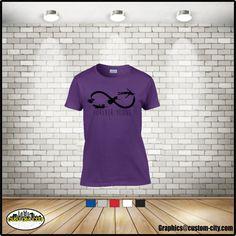 forever young t-shirt, infinity t-shirt,peter pan shirt,unisex shirts,adult shirts,women shirt,ladies tops,girls t-shirt,plus size 5x shirts - http://Www.Etsy.com/shop/customcityink