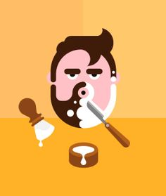 Shavin' designed by Tim Boelaars. Connect with them on Dribbble; the global community for designers and creative professionals. People Illustration, Character Illustration, Flat Design Icons, Icon Design, Pictogram, Geometric Shapes, Art Direction, Illustrators, Graffiti