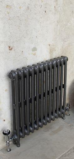 Victorian 2 column cast iron radiator- Victorian 2 Column Cast Iron Radiator in period property Cast Iron Radiators, House Styles, Iron, Victorian Bedroom, Victorian Hallway, Bedroom Decor, Victorian Kitchen, Period Property, Murphy Bed Diy