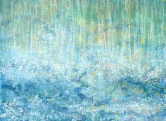 Raining cats by Iris Grace Halmshaw - a 5 year old autistic artist.  I think this is lovely.