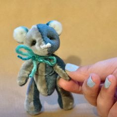 Patty the miniature handmade bear! Xxx