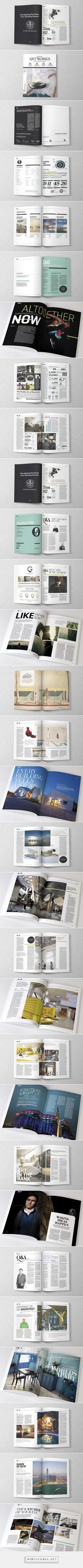 Magazine Design Inspiration - Artworks Journal Issue 2