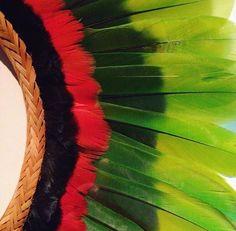 Details of a Rikbaktsa headdress