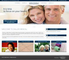 Medical Care, To Focus, Dallas, Template, Website, Board, Health, Health Care, Vorlage