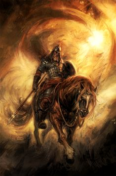 The Bogatyr | A stock character in medieval East Slavic legend, akin to a Western European knight-errant.