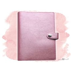 A6/personal planner binder rose gold metallic  at TanyaBrittany shop