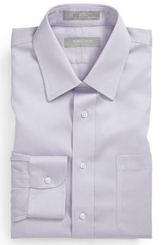 7d75fdc09 Fitted Dress Shirts, Shirt Dress, Lavender, Traditional, Nordstrom, Vest,  How To Wear, Grey, Dresses