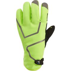 15 - Cycling Cycling - 900 Hi Vis Winter Cycling Gloves - Neon Yellow B'TWIN - Clothing accessories