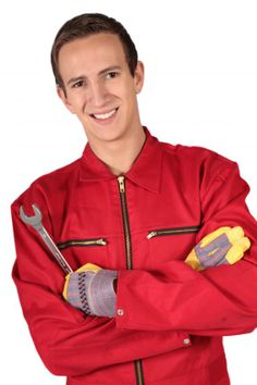 Photo about A young mechanic trainee. All isolated on white background. Image of handyman, young, isolated - 10975311 Carriage House Garage Doors, Garage Door Panels, Garage Door Repair, Affordable Garage Doors, Chamberlain Garage Door Opener, Photography For Sale, Plasma Cutting, Garage Storage, Morning Glories