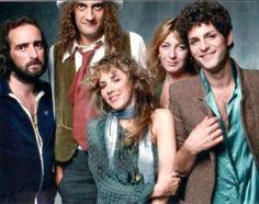 Fleetwood Mac..Tusk photo shoot 1979