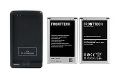 FrontTech 3200mAh OEM BatteryCharger For Samsung Galaxy Note 3 N9000 N9005 N900A N900 2batteries1charger -- Check out this great product by click affiliate link Amazon.com