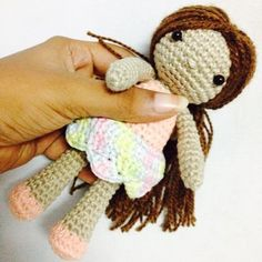 Amigurumi doll made.. Designed by me!!