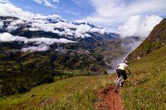 Mountain Biking In the Shadow of Illampu