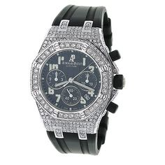 Custom AP Watches Audemars Piguet Royal Oak Offshore Mens Diamond Watch