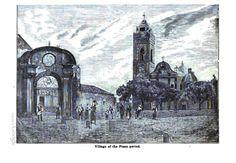 ne approfitteremo anche per capire come è cambiata Senorbì nei secoli....ecco come appariva a Robert Tennant alla fine dell'Ottocento