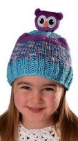 DIY Knit hat for kids - DMC Top This Owl Hat