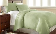 Groupon - Shavel Microfiber Duvet Sets. in [missing {{location}} value]. Groupon deal price: $17.99 kakai/king