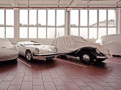 Secret Treasures - the Porsche warehouse on Behance