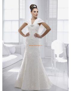 RONALD JOYCE A-linie Lange Brautkleider aus Satin