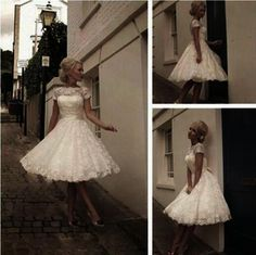 Wedding Dress,Wedding Gown,http://bridesmaiddress.storenvy.com/collections/1129503-short-prom-dresses/products/16315041-wedding-dress-wedding-gown-long-sleeves-wedding-dress-lace-wedding-dress-lac