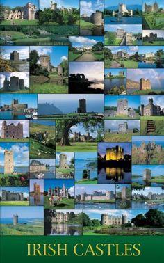 A trip to Ireland ...Tour the castles!!