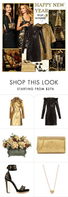 """HAPPY NEW YAR"" by lovemeforthelife-myriam-mimi ❤ liked on Polyvore featuring Michael Kors, Gatsby, Anthropologie, Burberry, Dundas, Yves Saint Laurent and Alexander McQueen"