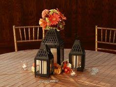 Fall Wedding Centerpiece Idea by A & L Floral Design, Dallas TX