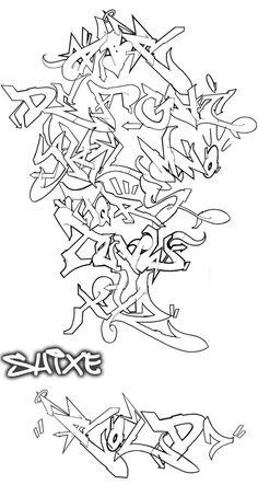 Alphabet with flow by Graffiti-Battles