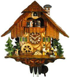 Chalet Cuckoo Clocks Cuckoo Clock 1-day-movement Chalet-Style 35cm by August Schwer