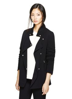 WILFRED MAYET JACKET - Relaxed yet refined tailoring in Japanese crepe