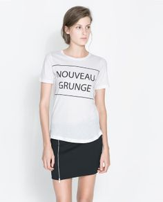 Image 1 of GRUNGE & PUNK T-SHIRT from Zara
