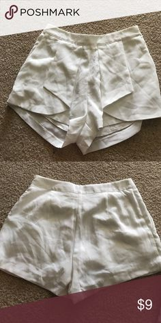 Pitaya cream high waisted shorts Never worn, got them a few years ago but do not fit me, so cute Lush Shorts