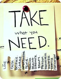 take as many as you need
