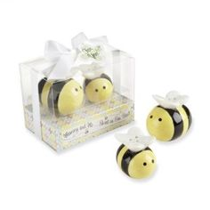 Amazon.com: Kate Aspen Mommy and Me Sweet as Can Bee Ceramic Honeybee Salt and Pepper Shakers: Baby