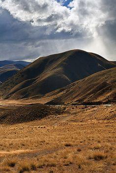 Lindis Pass, Otago, New Zealand