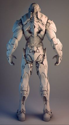 ArtStation - Nvidia Soldier, Mike Jensen: