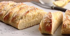 A soft and tender sweet dough wrapped around tangy lemon filling. One slice will brighten your day and have you smiling in no time.