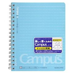 Kokuyo Campus Twin Ring Perforated Notebook - A6 - Dotted 6 mm Rule - 50 Sheets Kokuyo http://www.amazon.co.uk/dp/B0045TTKS0/ref=cm_sw_r_pi_dp_Ng.qvb1EKE9TT