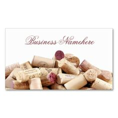 Wine Corks Business Cards