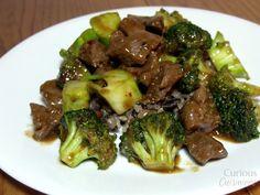 Spicy Venison and Broccoli