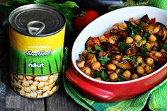 Vinete cu naut si patrunjel - CAIETUL CU RETETE Chana Masala, Eggplant, Foodies, Beans, Vegetables, Ethnic Recipes, Fine Dining, Veggies, Eggplants