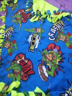Embroidered Blankets, Personalised Blankets, Tmnt, Grinch, Ninja Turtles